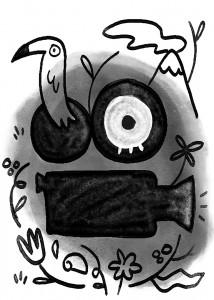 VLAFF || Illustration by Karla Monterrosa for Discorder Magazine
