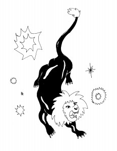 The Lions We Are || Illustration by Marita Michaelis for Discorder Magazine