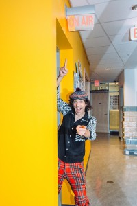 Nardwuar || Photography by Nolan Sage for Discorder Magazine