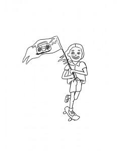 Discorder Radio    Illustration by Sophia Lapres for Discorder Magazine