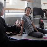 Sadira Rodrigues and Justine Chambers start the conversation